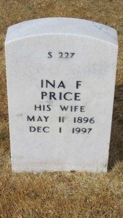 Ina Florence <I>Norris</I> Price