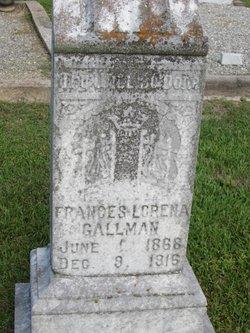 Frances Lorena Gallman