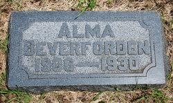 Alma Beverforden