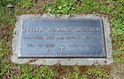 Evelyn <I>Howard</I> Brogden