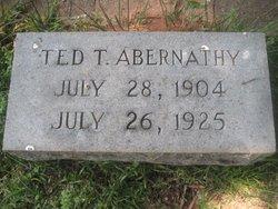 """Thomas """"Ted"""" Abernathy"""