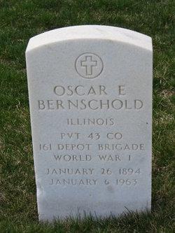 Oscar E Bernschold
