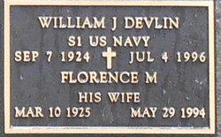 William J Devlin