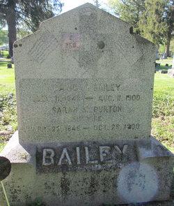 Sarah M. <I>Burton</I> Bailey