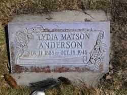 Lydia Matson Anderson