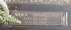 Vera <I>Shurette</I> Kilgore