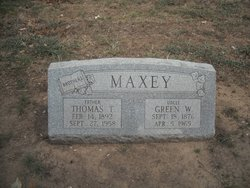 Green W. Maxey