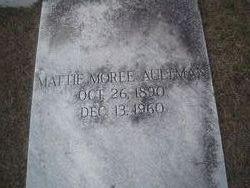 Mattie <I>Moree</I> Aultman