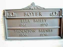Ella <I>Bailey</I> Boyer