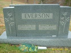 """Thomas W. """"Watt"""" Everson"""
