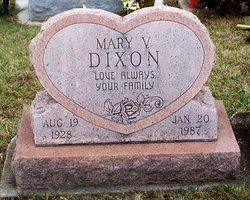 Mary Virginia <I>Hahn</I> Dixon