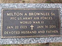 Milton Arden Brownlee, Sr