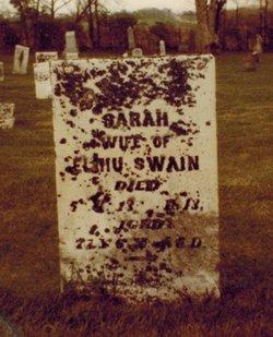 Sarah <I>Mills</I> Swain