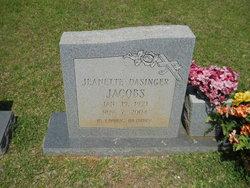 Jeanette Ellen <I>Cruit</I> Jacobs