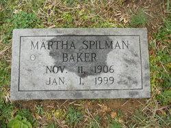 Martha <I>Spilman</I> Baker
