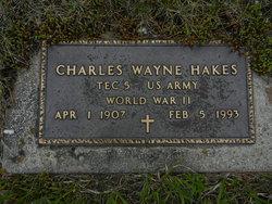 Charles Wayne Hakes