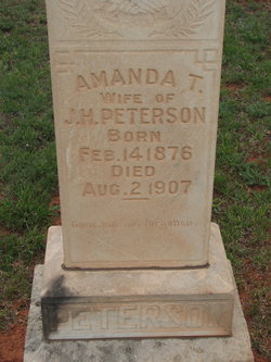 Amanda T <I>Lemley</I> Peterson