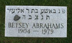 Betsey <I>Gordon</I> Abrahams