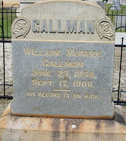 William Munroe Gallman