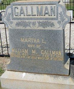 Martha Louise <I>Turner</I> Gallman