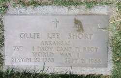 Ollie Lee Short