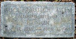 Alice <I>Frautschi</I> Allen