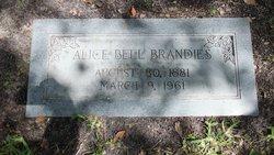 Alice <I>Bell</I> Brandies