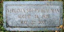Virginia <I>Sours</I> Beauman