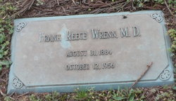 Dr Frank Reece Wrenn, Sr