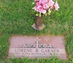 Lorene B <I>Burklow</I> Garner