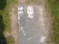 Mary <I>Brown</I> Langston