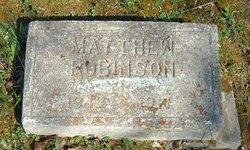 Matthew Robinson