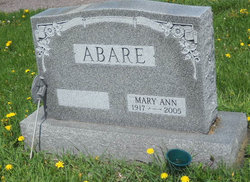 Mary Ann <I>Sperry</I> Abare