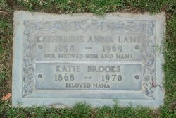 "Katherine Anna ""Katie"" Brooks"