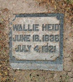 """Walburga Clara """"Wallie"""" <I>Mass</I> Heid"""