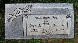 Bowman Joel
