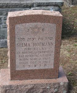 Selma <I>Loewenstein</I> Hoffman