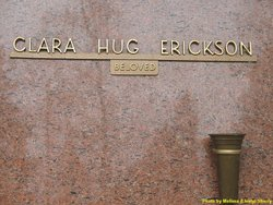 Clara <I>Hug</I> Erickson