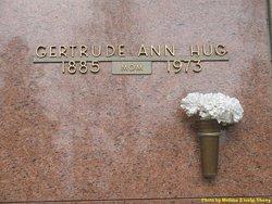 Gertrude Ann <I>Schirk</I> Hug