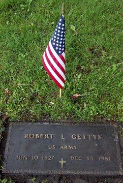 Pvt Robert Leonard Gettys