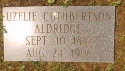 Uzelie <I>Cuthbertson</I> Aldridge