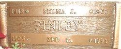 Selma Juanita <I>Stone</I> Finley