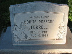 Bonita Hazel <I>Robeson</I> Ferrell