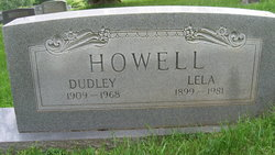 Lela Roberta <I>Phillips</I> Howell