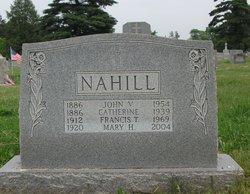 Mary H. <I>Conover</I> Nahill