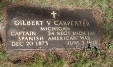 """Gilbert Vilas """"Bert"""" Carpenter"""