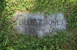 Lillie R Jones