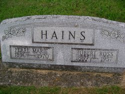 Pearl Marie <I>Hiltner</I> Hains
