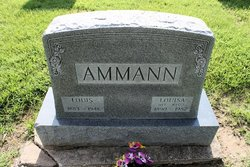 Louisa Margaret <I>Weiss</I> Ammann