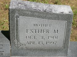 Esther M <I>Harvey</I> Moore